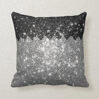 CHEVRON Universe Throw Pillow