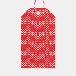 CHEVRON WITH A TWIST PACK OF GIFT TAGS