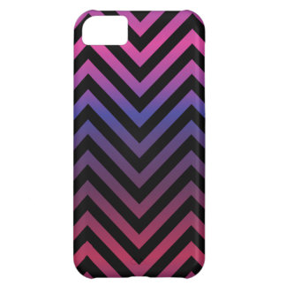 Chevron with Pink Blue Purple and Black iPhone 5C Covers