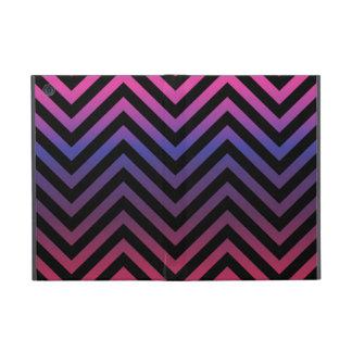 Chevron with Pink Blue Purple and Black Case For iPad Mini