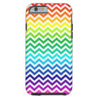 Chevron Zig Zag Pattern in Bright Rainbow Colours Tough iPhone 6 Case