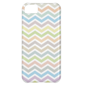 Chevron Zig Zag Pattern - soft muted colors iPhone 5C Cover
