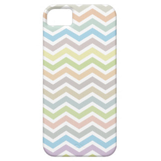 Chevron Zig Zag Pattern - soft muted colors iPhone 5 Cases