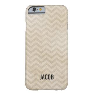 Chevron zig zag personalized iPhone 6 case