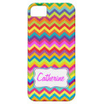 Chevron zigzag pattern multi-colored iphone case iPhone 5 cover
