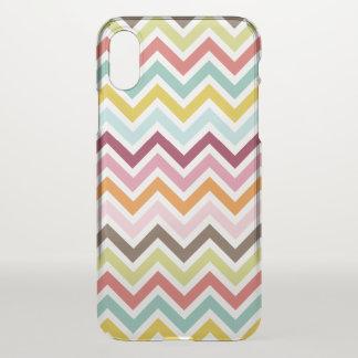 Chevron Zigzag Stripes iPhone X Case