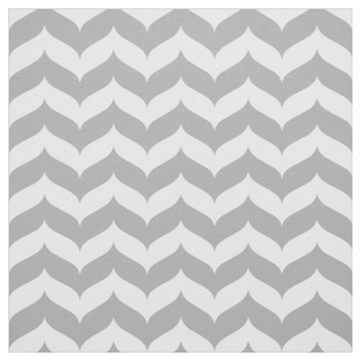 Chevron Zigzag Wingtip Stripe Pattern Fabric