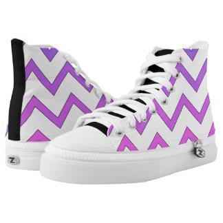 Chevron Zipper Shoes