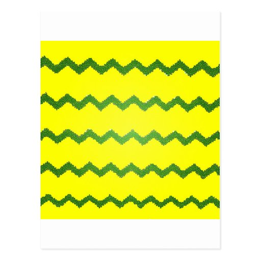Chevrons Pattern Shower Party Peace Love Destiny Post Card