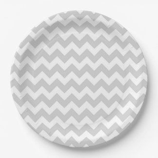 Chevrons 9 Inch Paper Plate