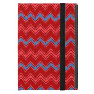 chevrons, zig-zag retro iPad mini case