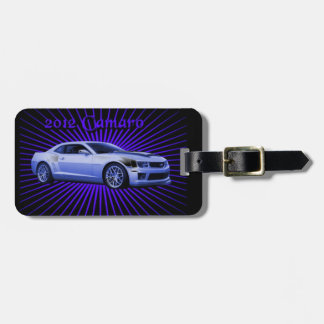 Chevy: 2012 Camaro Luggage Tag