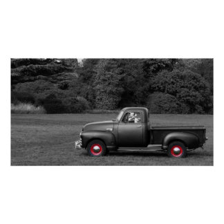 Chevy 3100 Truck Poster