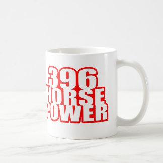 Chevy 396 horse power coffee mug