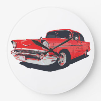 Chevy Bel Air vector illustration clock