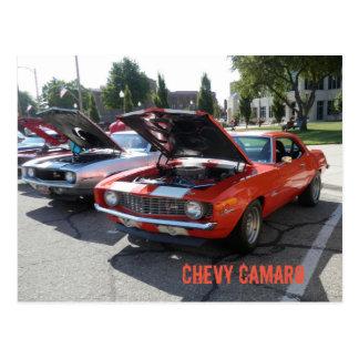 Chevy Camaro Postcard