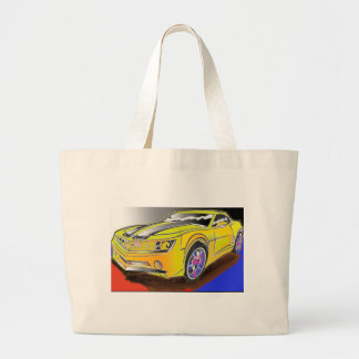 Chevy Camero Large Tote Bag