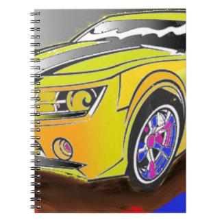 Chevy Camero Notebook