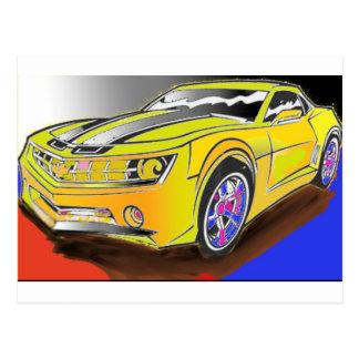 Chevy Camero Postcard