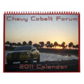 Chevy Cobalt Forum Calendars