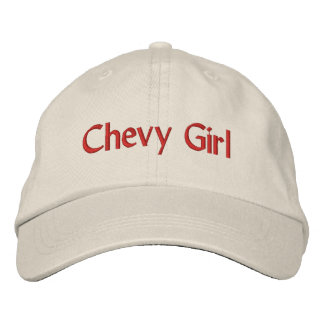 Chevy Girl Hat Embroidered Hat