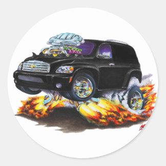 Chevy HHR Black Panel Truck Classic Round Sticker