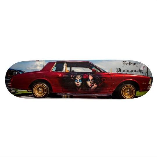 Chevy Monte Carlo Lowrider Custom Skateboard