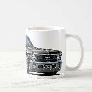 Chevy Nova Black Car Coffee Mug