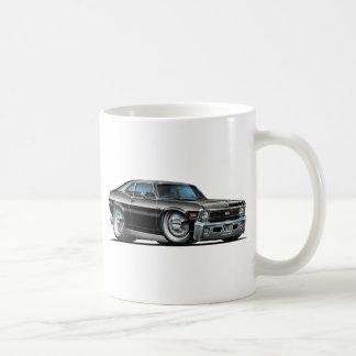 Chevy Nova Black Car Basic White Mug