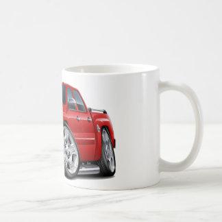 Chevy Silverado Dualcab Red Truck Coffee Mug