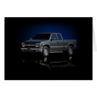 Chevy truck card