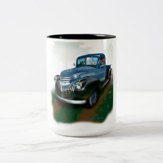 Chevy truck Two-Tone coffee mug