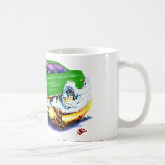 Chevy Vega Green Car Coffee Mug