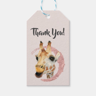 """Chew"" 3 Thank You Gift Tags"