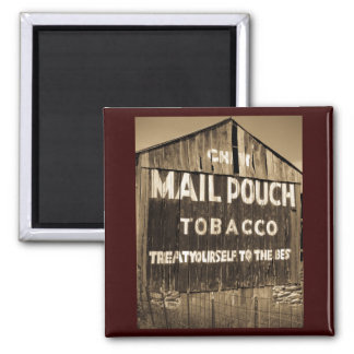 Chew Mail Pouch Tobacco Barn Magnet