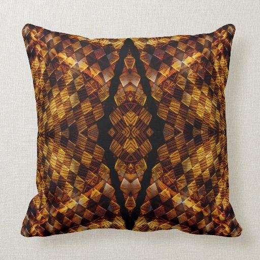 Chewbacca Chesterfield Checkers Mandala Pillow