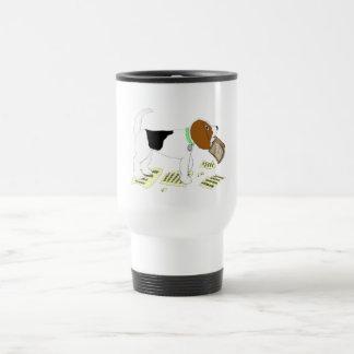 Chewing Beagle Travel Mug