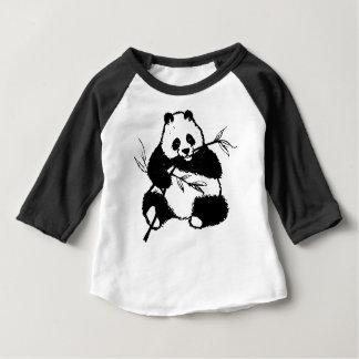 Chewing Panda Baby T-Shirt