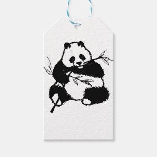 Chewing Panda Gift Tags