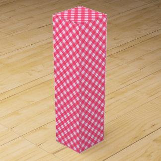 CHEX 1 PINK-WINE BOTTLE GIFT BOX WINE BOX