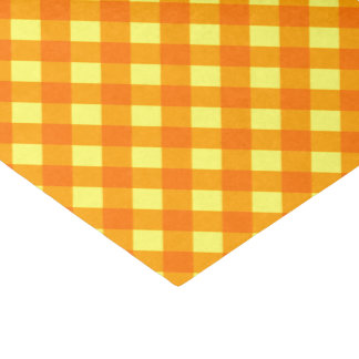 Chex 3-Orange-Yellow-TISSUE WRAPPING PAPER