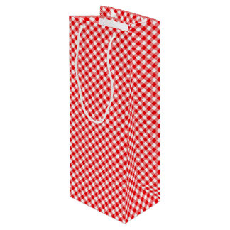 Chex 5-RED-WINE BOTTLE GIFT BAG