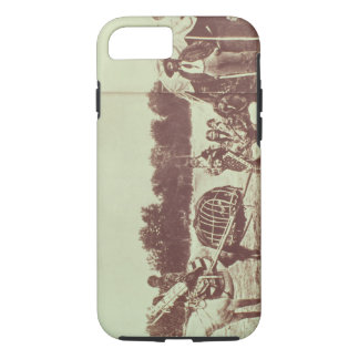 Cheyenne Indians on the Move, 1878 (b/w photo) iPhone 7 Case