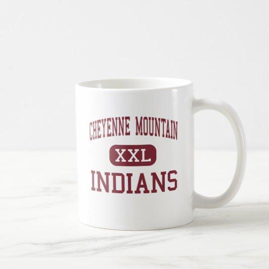 Cheyenne Mountain - Indians - Colorado Springs Coffee Mug