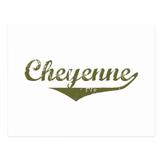 Cheyenne Revolution t shirts Postcard