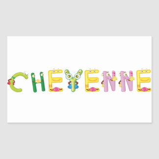 Cheyenne Sticker