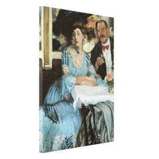 Chez Mouquin, 1905 Canvas Print