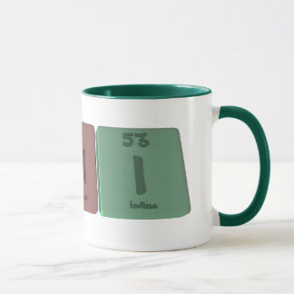Chi as Carbon Hydrogen Iodine Mug