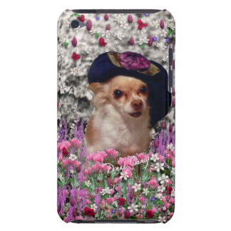 Chi Chi in Flowers  - Chihuahua Puppy in Cute Hat iPod Touch Covers