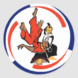 Chi in Aikido Classic Round Sticker